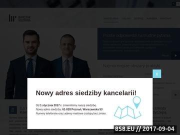 Zrzut strony Odszkodowania powypadkowe, odszkodowania komunikacyjne w Poznaniu