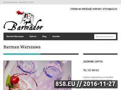 Miniaturka domeny barmanwarszawa.pl