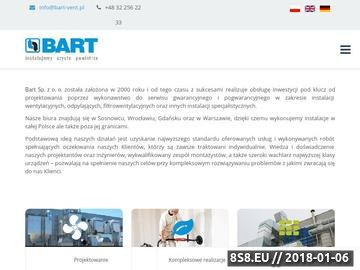 Zrzut strony Bart filtry przemysłowe