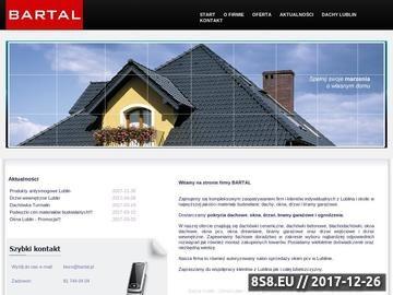Zrzut strony BARTAL Dachy Lublin