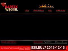 Miniaturka domeny www.bartexwegiel.pl
