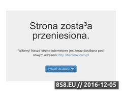 Miniaturka domeny www.bartinox.pl
