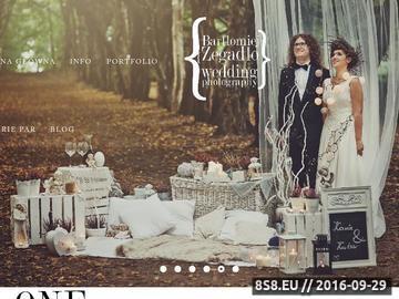 Zrzut strony Fotograf ślubny Kraków Bartłomiej Zegadło