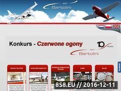 Miniaturka domeny www.bartolini-air.com