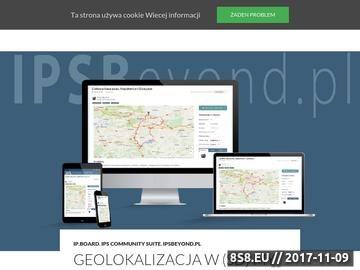 Zrzut strony Dawid Baruch - Portfolio Webmastera, Programowanie, IP.Board, PHP, SQL, Skiny