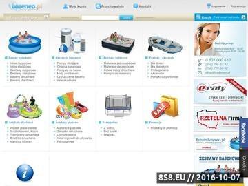 Zrzut strony Baseny ogrodowe Intex, Bestway - baseneo.pl