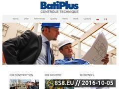 Miniaturka domeny www.batiplus.pl