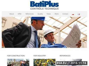 Zrzut strony Batiplus Ekspertyzy techniczne