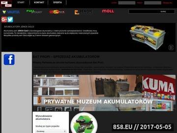 Zrzut strony Akumulatory żelowe Śląsk