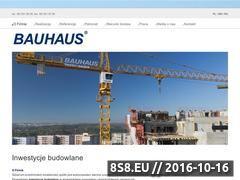 Miniaturka domeny bauhaus.com.pl