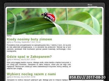 Zrzut strony Ogólnopolska Baza noclegowa