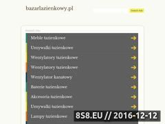 Miniaturka domeny bazarlazienkowy.pl