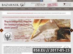 Miniaturka domeny www.bazarnik.pl