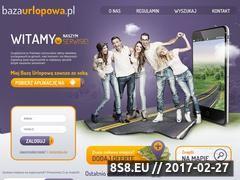Miniaturka domeny www.bazaurlopowa.pl