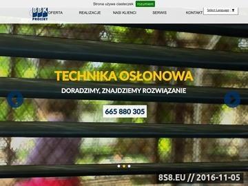 Zrzut strony Producent rolet Warszawa