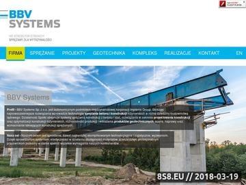 Zrzut strony Geotechnika i sprężanie betonu - BBV-Systems