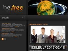 Miniaturka domeny www.be-free.com.pl