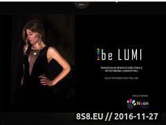 Miniaturka domeny be-lumi.com
