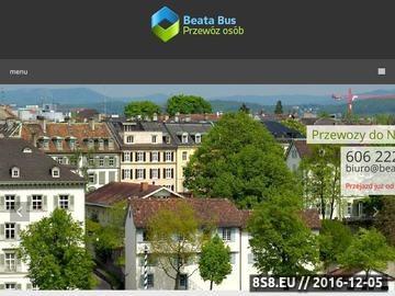 Zrzut strony Usługi przewozowe do i z Niemiec