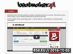 Miniaturka domeny beatmaker.pl