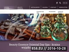Miniaturka domeny beauty-essence.pl