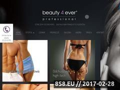 Miniaturka domeny www.beauty4ever.pl