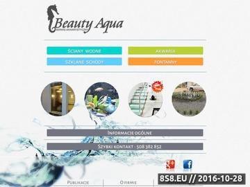 Zrzut strony Beauty Aqua