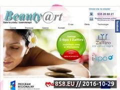 Miniaturka domeny www.beautyart.com.pl