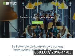 Miniaturka domeny bebetter.pl