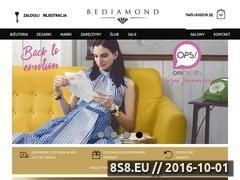 Miniaturka Kolekcje biżuterii i zegarków (www.bediamond.pl)