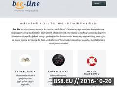 Miniaturka domeny bee-line.pl