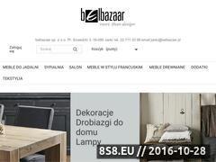 Miniaturka Meble ze skóry (www.belbazaar.pl)