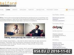 Miniaturka domeny belfordstudio.pl