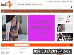 Miniaturka Bellami.pl - bielizna idealnie dopasowana (www.bellami.pl)