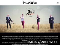Miniaturka domeny bellanotte.pl