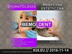 Miniaturka domeny bemo-dent.pl