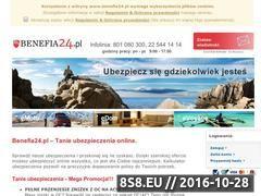 Miniaturka Ubezpieczenie mieszkania i samochodu  (www.benefia24.pl)