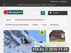 Miniaturka domeny www.bergsport.pl