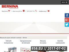 Miniaturka domeny www.bernina.pl