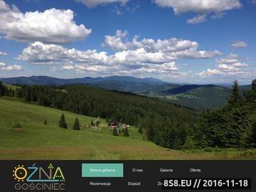 Zrzut strony Udany urlop w Beskidzie Żywieckim - Gościniec OŹNA k/Zwardonia