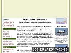 Thumbnail of Best Things in Hungary Website
