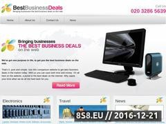 Thumbnail of Business Broadband Packages Website
