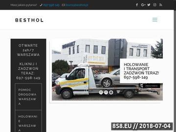 Zrzut strony Pomoc drogowa, mechanika samochodowa oraz elektryka samochodowa