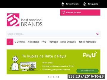 Zrzut strony Odzież lecznicza i bandaże Comfifast-wyłączny dystrybutor w Polsce