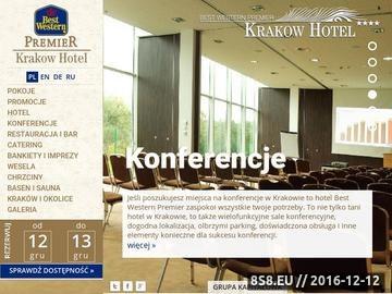 Zrzut strony Konferencje w mieście Kraków tylko w hotelu Best Western