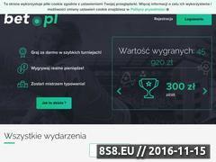 Miniaturka domeny www.bet.pl