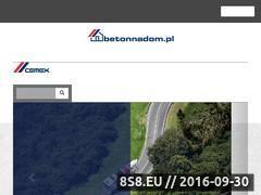 Miniaturka domeny www.betonnadom.pl