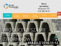 Miniaturka domeny www.betonowekrakow.pl