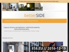 Miniaturka domeny www.betterside.pl