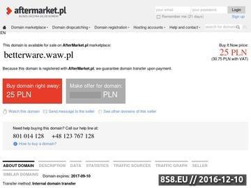 Zrzut strony BETTERWARE Warszawa - Pomysły dla Twojego domu.
